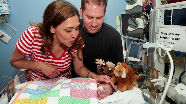 Jaime and her husband Dan share the emotional story of their first child