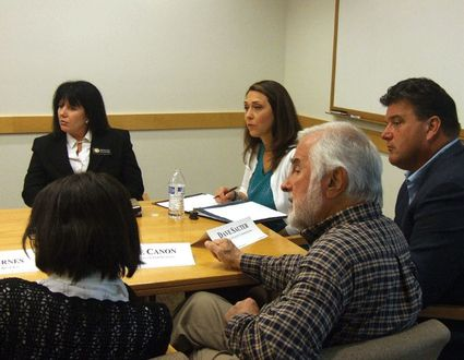 Jaime meets with Klickitat officials to relieve BPA safety concerns.